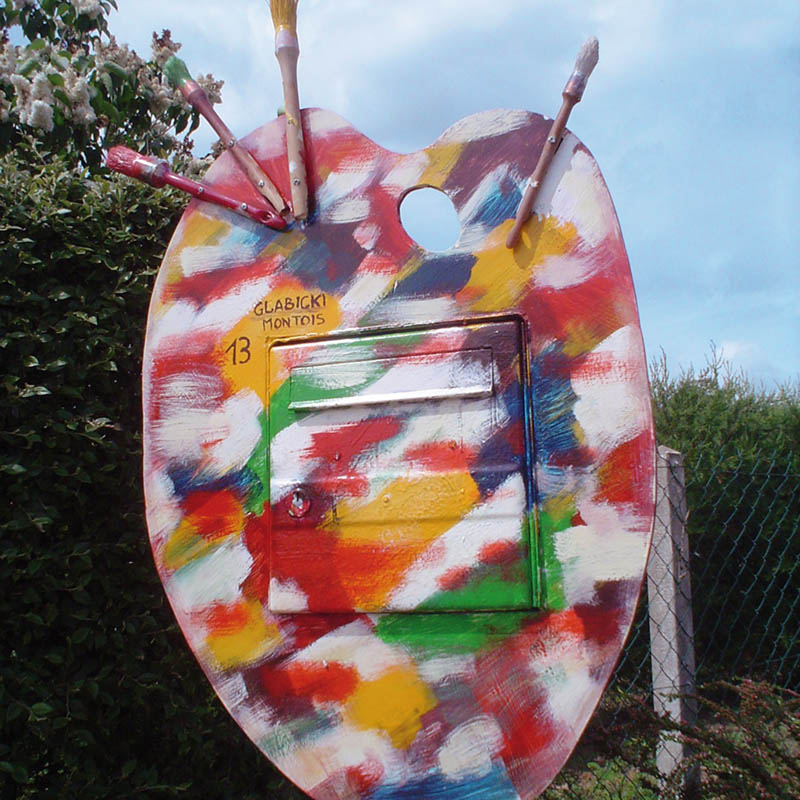 2009 La palette du peintre_GLABICKI