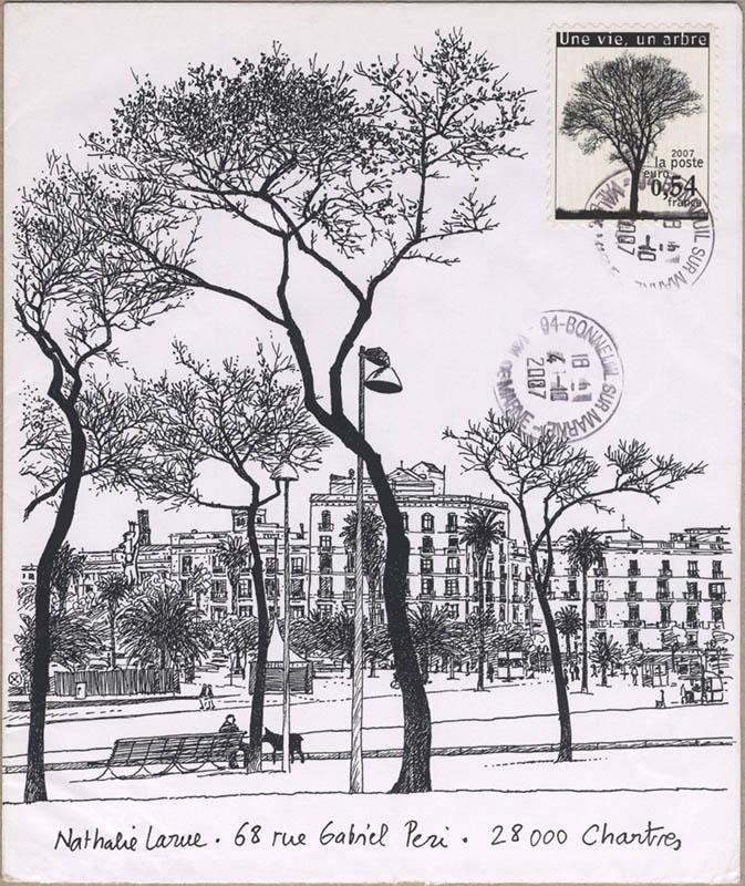 Une vie, un arbre to Nathalie
