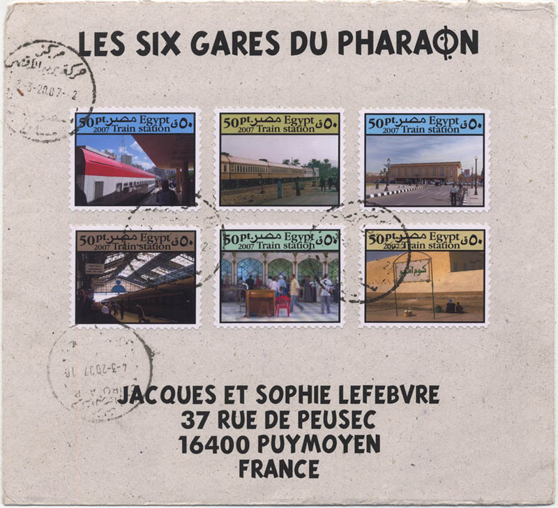 les 6 gares du Pharaon to Jqs et So